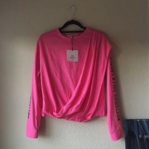 Zara Trafaluc hot pink top (spring 2018!!!)